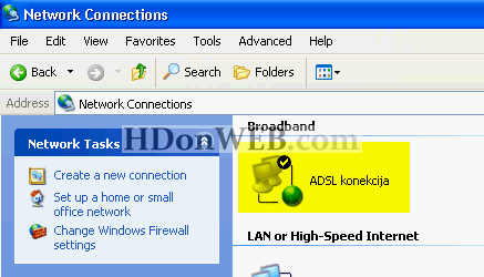broadband windows xp 15 Kreiranje broadband konekcije Windows XP eng