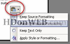 Kako kopirati tekst iz nekog drugog izvora u MS Word
