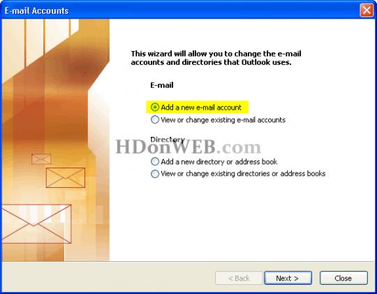 Gmail putem IMAP protokola u Microsoft Outlooku Dodavanje novog računa