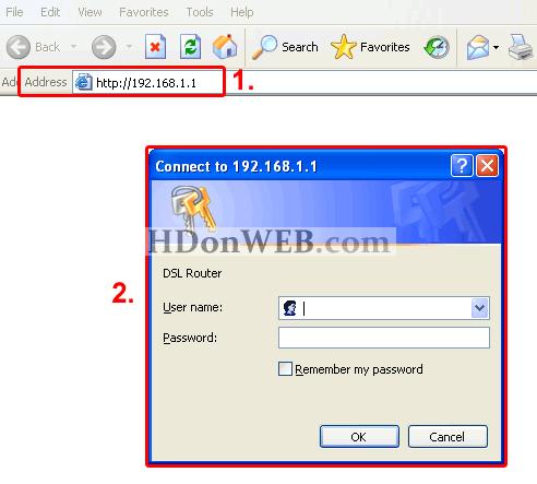Konfiguracija Kasda KD318-MUI DSL Combo Routera Login
