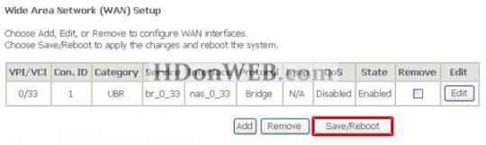 Konfiguracija Kasda KD318-MUI DSL Combo Routera Reboot routera-modema