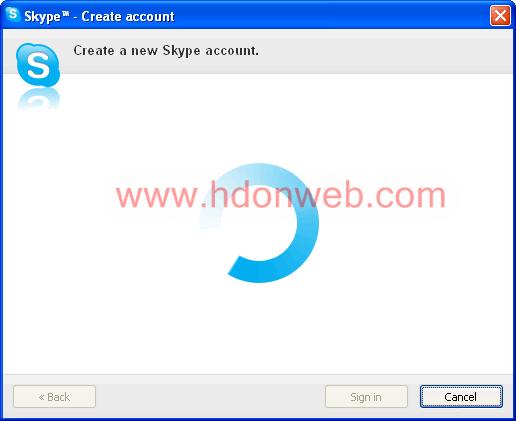 Kreiranje Skype računa