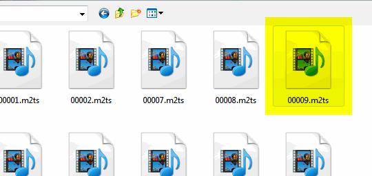 tsMuxeRa učitavanje M2TS  datoteke