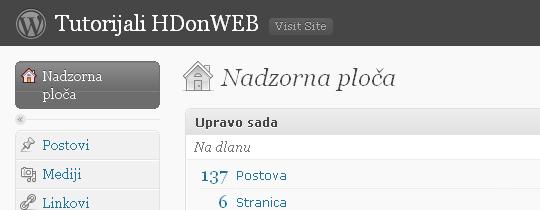 Wordpress na Hrvatskom