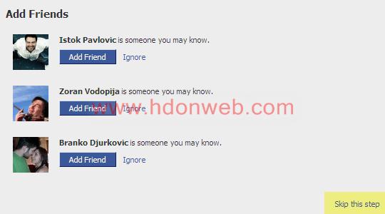 Facebook dodavanje prijatelja