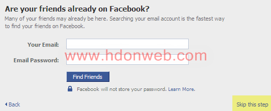 Facebook sinkronizacija sa postojećim kontaktima