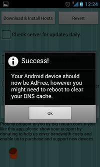 Android blokiranje oglasa